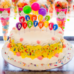 Yellow Birthday Baloons #25