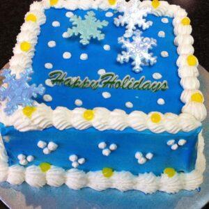 Snowflakes Ice Blue #63